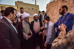 بازدید نماینده ولی فقیه در فارس از محله سعدی شیراز