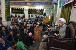 شیراز میں ولی فقیہ کے نمائندے کا محلہ سعدی کا دورہ
