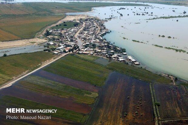وضعیت برای مسئولان خوزستان هنوز فوق العاده است/مد اکبر کنترل شد
