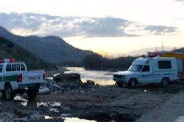 جسد یک مرد با هویت نامعلوم در رودخانه نورآباد کشف شد