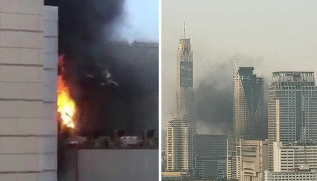 بنکاک کے تجارتی مرکز میں آگ لگنے سے 2 افراد ہلاک