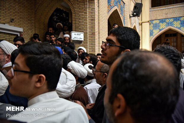 Mashhad Seminary students hold gathering in solidarity with IRGC