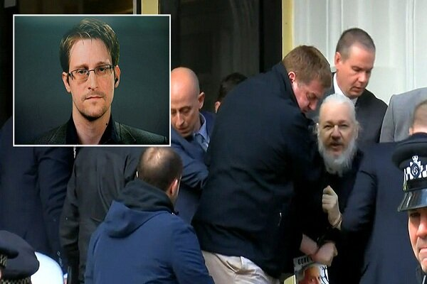 اسنودن: سازمانملل بازداشت آسانژ را نقض حقوقبشر دانسته بود