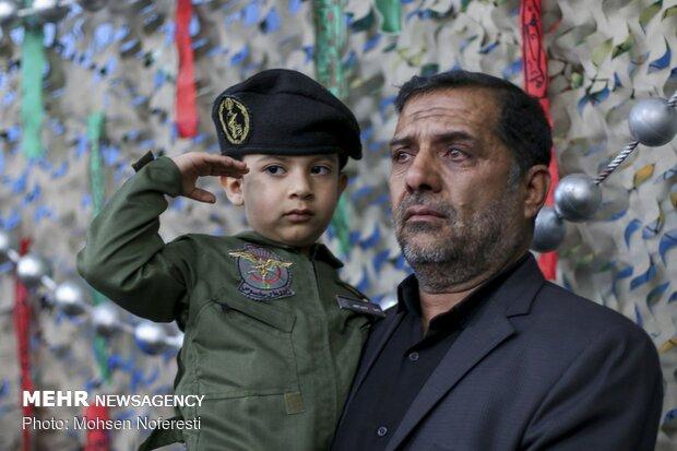 اجتماع حوزویان بیرجند در حمایت از سپاه پاسداران