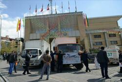 اولین کاروان کمکهای اهدایی شمال تهران به خوزستان ارسال شد
