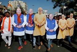شرکت مردم هند در انتخابات