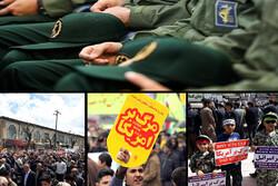 حمایت ملت از پاسداران وطن؛ ایران اسلامی سبزپوش شد