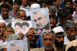 راهپیمایی مردم هشت بندی در حمایت از سپاه پاسداران انقلاب اسلامی