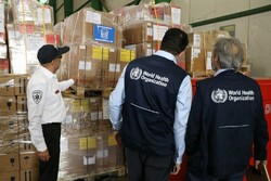 International humanitarian aid still arriving for the flood-hit in Iran