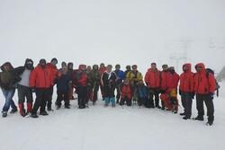 نجات ۲ گروه مفقود شده در کوهستان توچال