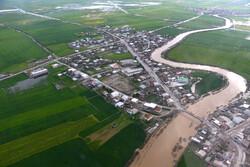 """تبعات الفيضانات في قرى """"آق قلا""""/ صور"""