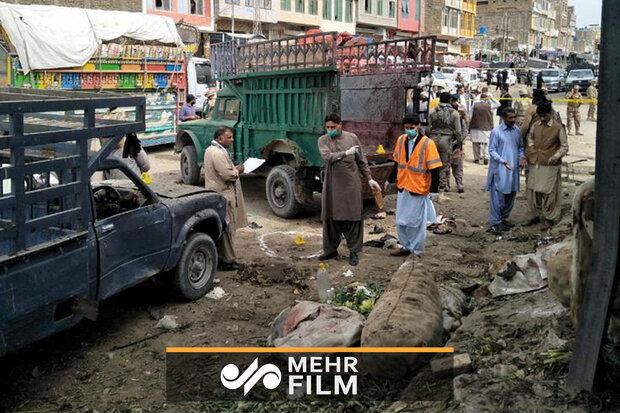 پاکستان کے شہر کوئٹہ میں بم دھماکے میں 20 افراد شہید