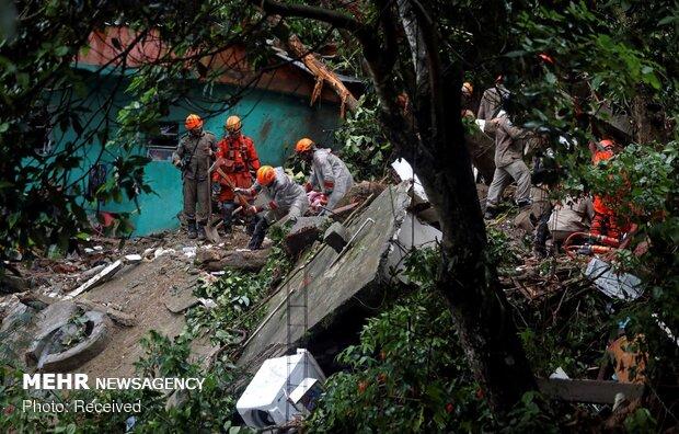 سیل مرگبار در برزیل