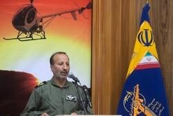 شناسایی مناطق سیلابی خوزستان توسط گروههای مهندسی هوانیروز سپاه