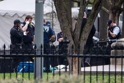 خودسوزی یک فرد معلول در مقابل کاخ سفید