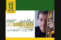 Léo Gandelman to perform in Tehran