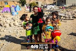 فلسطینی بچوں کا سیلاب سے متاثرہ ایرانی بچوں کے ساتھ ہمدردی کا اظہار