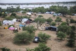 حياة اهالي القرى الغارقة في فيضانات خوزستان / صور