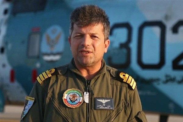 حوامات الجيش الايراني تشارك في عملية اغاثة منكوبي السيول