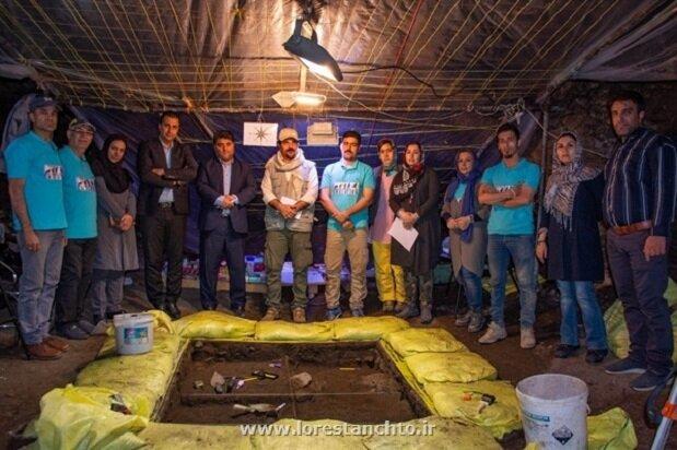 آغاز فصل سوم کاوش در غار «کلدر» خرمآباد