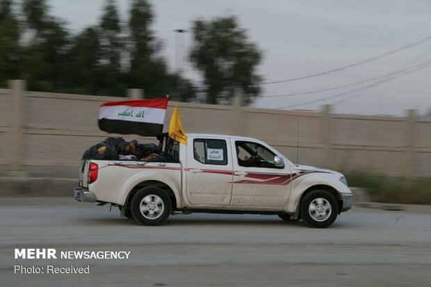 Iraqi al-Nujaba's humanitarian aid arrives in Iran