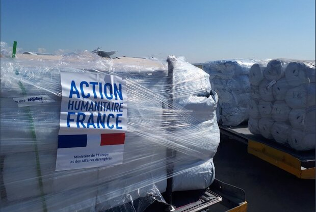 France delivers 2nd rescue aid cargo to Iranian Red Crescent