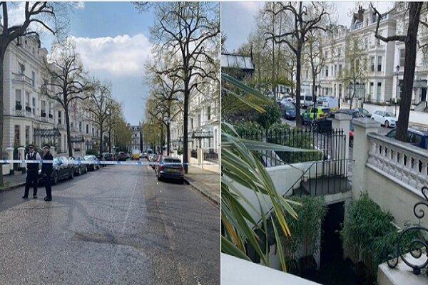 تیراندازی پلیس با مهاجمان در نزدیکی سفارت اوکراین در لندن