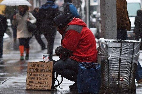 مرگ افراد بیخانمان در انگلستان به بالاترین سطح خود رسید