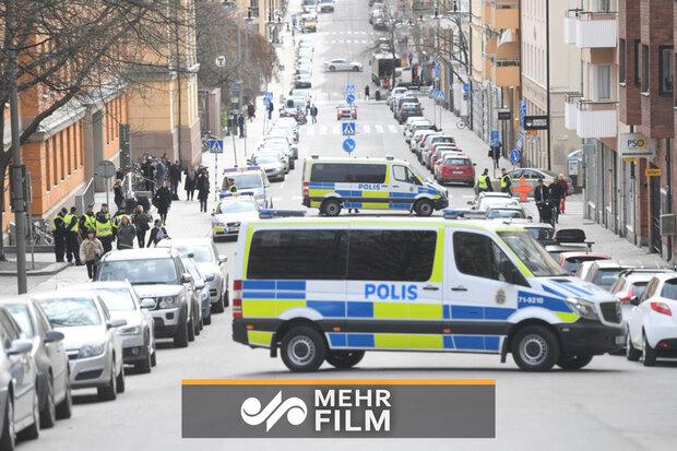 لندن میں یوکرائن کے سفارتخانہ کے سامنے فائرنگ