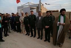 """قافلة مساعدات """"النجباء"""" العراقية دخلت الى ايران"""