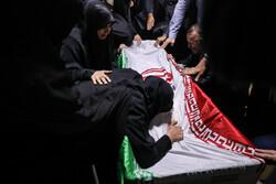 وداع با شهید مدافع حرم «علی سعد»