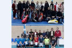 رقابتهای بدمینتون قهرمانی جوانان در استان قزوین برگزار شد