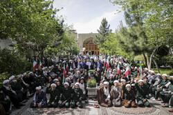 Students condemn US' IRGC blacklisting in Tehran's seminary