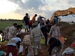 وضعیت خرمشهر عادی است/پرهیز مردم ازگرفتن سلفی روی خاکریزها