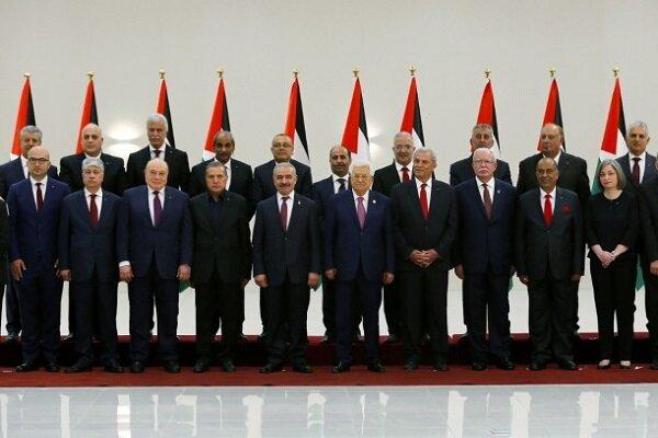 کابینه غیرقانونی تشکیلات خودگردان/ عامل تشدید شکاف داخلی فلسطین
