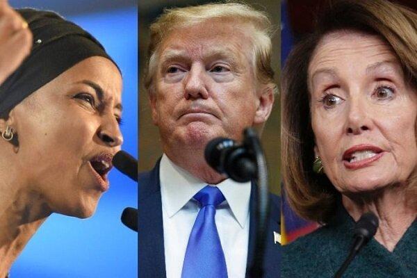 رئيسة مجلس النواب الأمريكي تنتقد تغريدة ترامب المناهضة للمسليمن