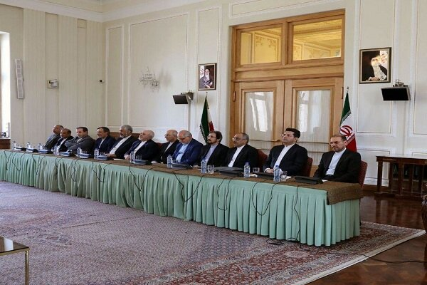 Iran Foreign Ministry holds ceremony to introduce new directors