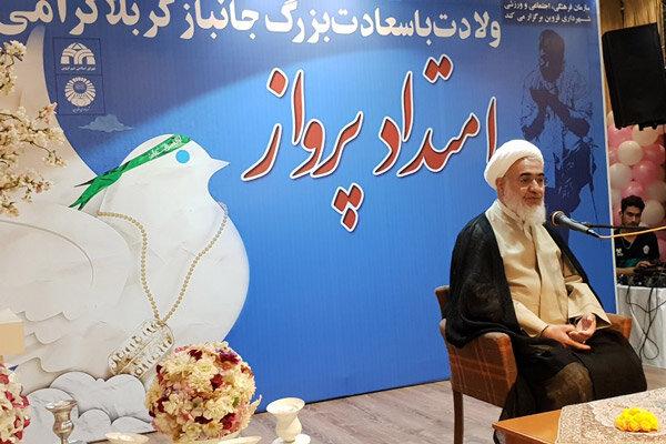جانبازان گلستانهای انقلاب اسلامی هستد که ملت قدردان ایثار آنهاست