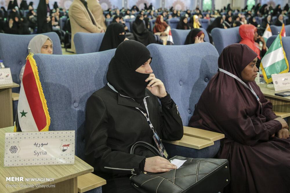 آئین اختتامیه سی وششمین دوره مسابقات قرآن