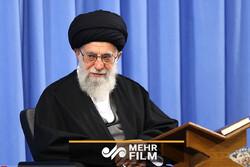 Devrim Lideri'nin huzurunda Kur'an-i Kerim tilaveti