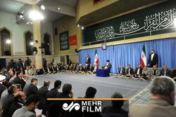 قرائت نفر نخست مسابقات بینالمللی قرآن در حضور رهبر انقلاب