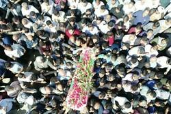 مراسم تشییع پیکر شهید امنیت «مرتضی ابراهیمی»در شهریار برگزار شد
