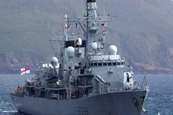 کِشتی جنگی انگلیس وارد سواحل بحرین شد