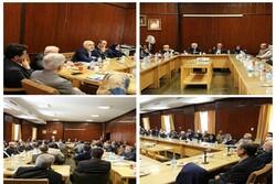 ظريف يلتقي مع أساتذة وأعضاء هيئة التدريس في جامعة طهران