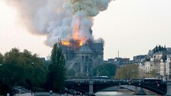 Huge Fire Breaks Out in Paris' Famous Notre Dame