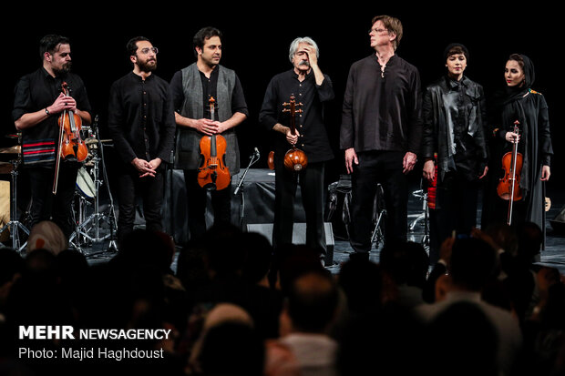 'Silent City' concert staged at Tehran's Vahdat Hall