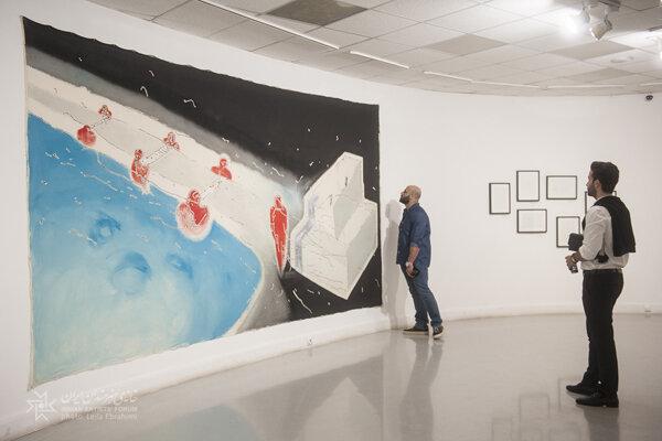 برپایی نمایشگاه نقاشی «سفر» در خانه هنرمندان