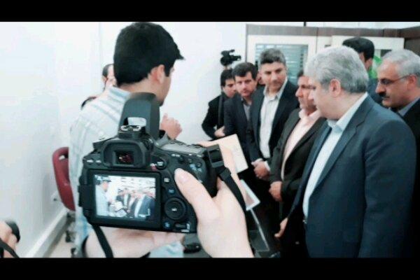 معاون  رئیس جمهور از پارک علم و فناوری استان بازدید کرد