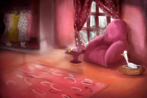 «خانه صورتی» انیمیشنی در نقد فضای مجازی است
