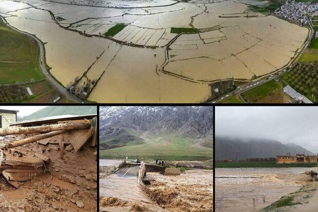 خسارت ۱۶۰۰ میلیاردی سیل در کرمانشاه/ گسل نشینی بر بستر سیلاب